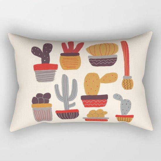 Kaktus Rectangular Pillow