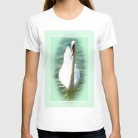 swan queen T-shirts featuring Swan by Art-Motiva