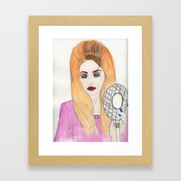 Dusty Lana Framed Art Print
