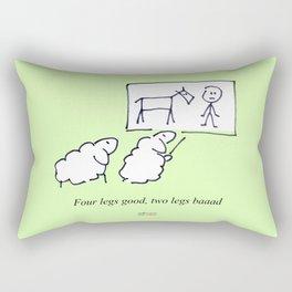 Four legs good Rectangular Pillow
