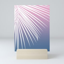 Pastel Palm 01 Mini Art Print