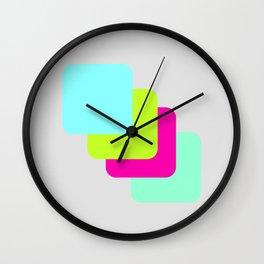 colourful division Wall Clock