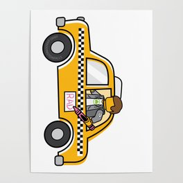 Taxi Writer Poster