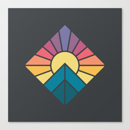 Sun it Rises Canvas Print