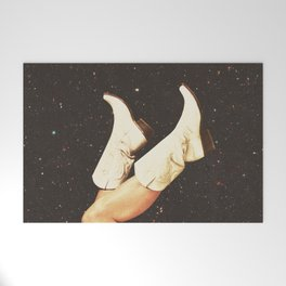 These Boots - Space Welcome Mat