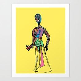 The Doll of Seven Auras Art Print