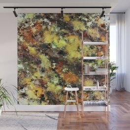 Leaning strata Wall Mural