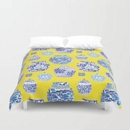 Chinoiserie Ginger Jar Collection No.2 Duvet Cover