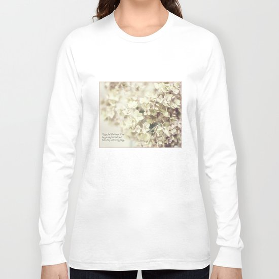 little things Long Sleeve T-shirt