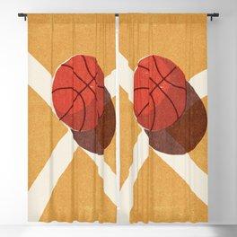BALLS / Basketball (Indoor) Blackout Curtain