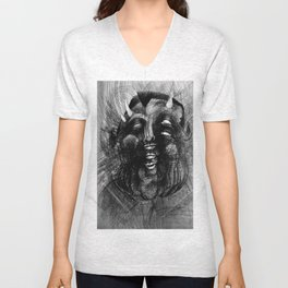 Fat Devil Unisex V-Neck