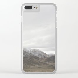 Lindis Pass - New Zealand Clear iPhone Case