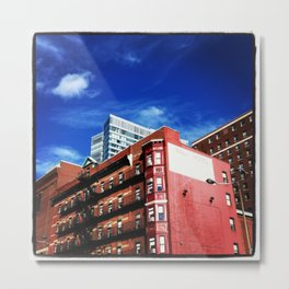 Milner Hotel, Boston, Massachusetts Metal Print