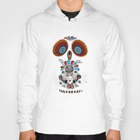 mexican Hoodies featuring Mexican Owl by Msimioni