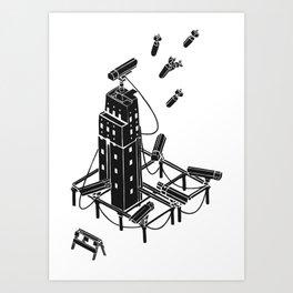 Bombs Art Print