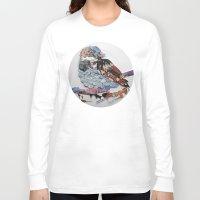 sparrow Long Sleeve T-shirts featuring sparrow by Ruud van Koningsbrugge