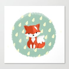I'm a fox Canvas Print
