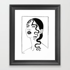 Inktober 05_2016 Framed Art Print