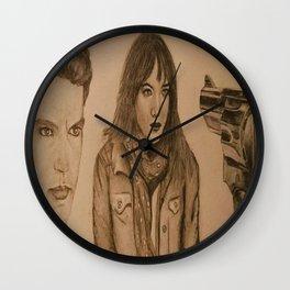 """""""leila"""" - FIFTY SHADES DARKER Wall Clock"""