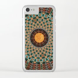 The Mosaic Clear iPhone Case