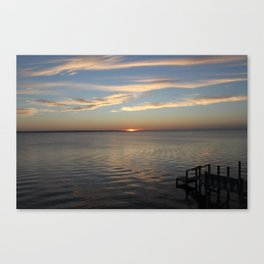 Sunset Over the Sound [2] Canvas Print