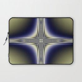Fractal Cross Laptop Sleeve
