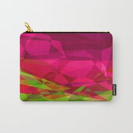 Rosas Moradas 1 Abstract Polygons 3 Carry-All Pouch