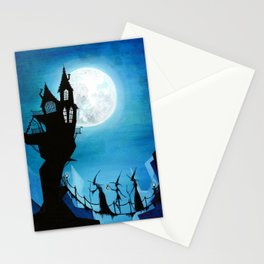 Witch Sisters Journey Home Stationery Cards