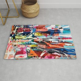 Colorful Mess Rug