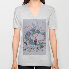 Ocean Myths Unisex V-Neck