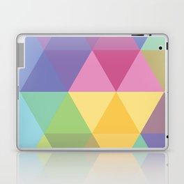 Fig. 015 Colorful Hexagon Laptop & iPad Skin