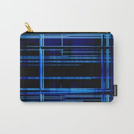 Blue Lights, Big City Twist Carry-All Pouch