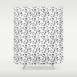 Feeling Poppy Shower Curtain