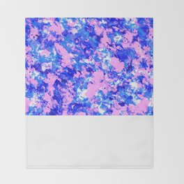 Crash Palette Throw Blanket
