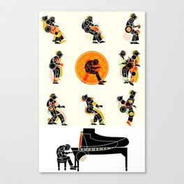 MUSICAL MOVEMENT Canvas Print