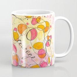 Flourish: Strength. Hope. Courage. Coffee Mug