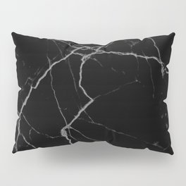 black marble I Pillow Sham