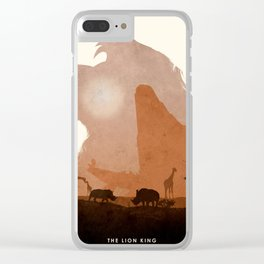 The Lion King Clear iPhone Case