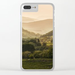 Sunny afternoon in Lake District Clear iPhone Case
