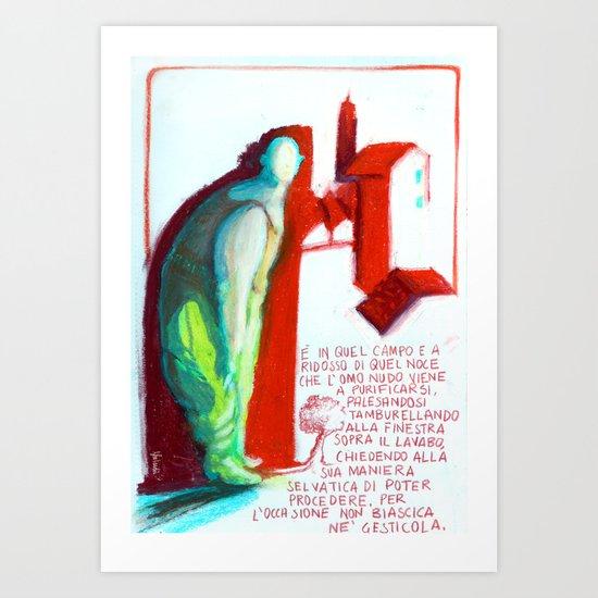 MECCANICA CELESTE Art Print