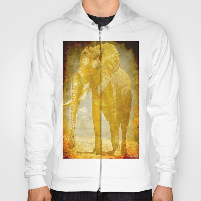 The elephant under a sandstorm Hoody
