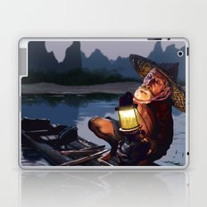Night Fisher Laptop & iPad Skin
