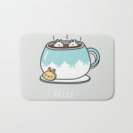 Marshmalunny Cocoa Bath Mat