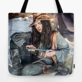 Captain Lena Luthor color version Tote Bag