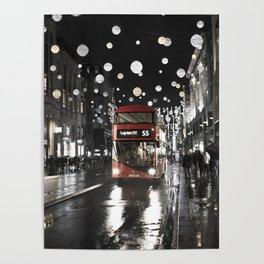 London Oxford Street Poster