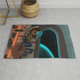 Nap in Space Rug