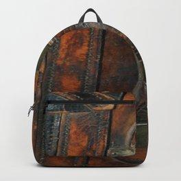 Steam-punk Vintage Steamer-trunk Handle Backpack