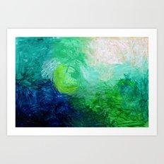 Water No. 1  Art Print