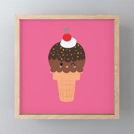 Ice Cream No. 4 Framed Mini Art Print