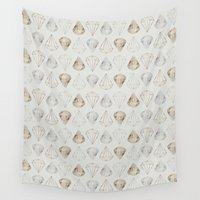 diamonds Wall Tapestries featuring DIAMONDS by Stine Nygaard
